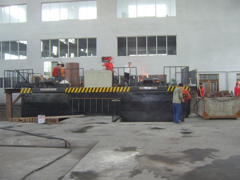 3-20吨中频熔炼电炉8台
