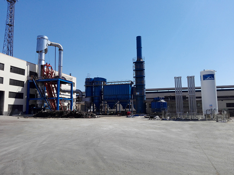 环保型冲天炉(8吨2台)