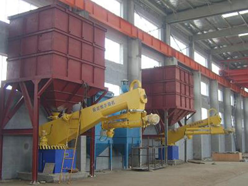 树脂砂生产线5-20吨7条